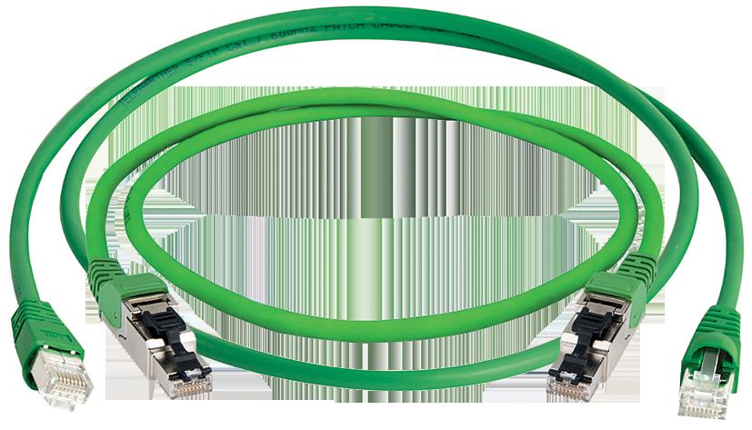Telegartner  - gotowe wiązki kablowe PATCH CORD w powłoce PUR